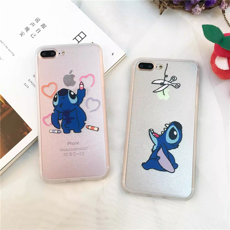 Coque Iphone  Plus Stitch