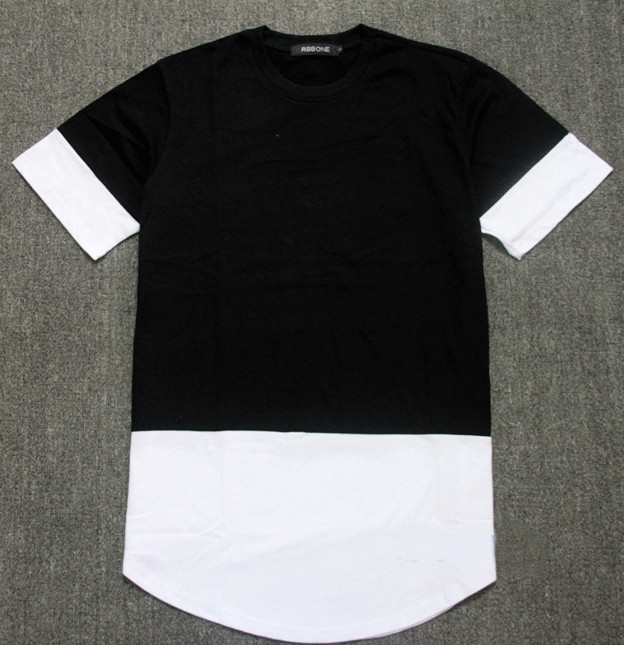 Aliexpress.com : Buy summer style mens t shirt black with white ...