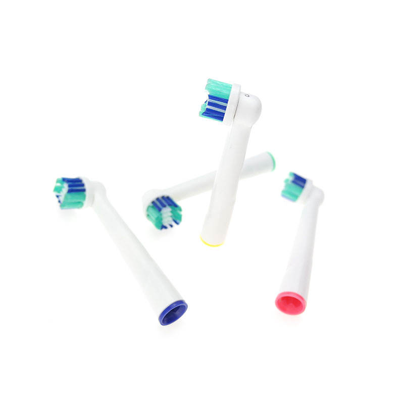 8 pc for Oral B Cross Action Replacement Sonic Electric Toothbrush Heads Rotation Braun Toothbrush Heads Oral Hygiene Brush Head image
