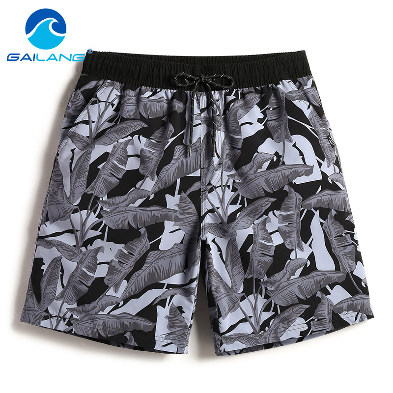 Gailang Brand Men beach   Board     shorts   casual men Boxer Trunks Swimwear Swimsuits Gay boardshorts bermudas masculina de marca