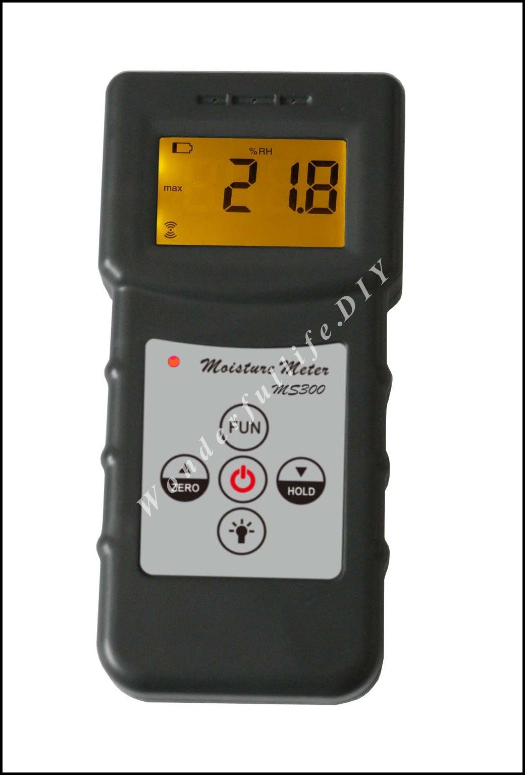 где купить professional MS300 Inductive moisture meter measuring moisture content of wood,paper,Bamboo concrete,metope,and other material по лучшей цене