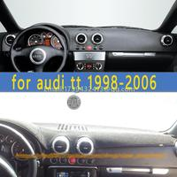 dashmats car styling accessories dashboard cover for audi tt mk1 1998 1999 2000 2001 2002 2003 2004 2005 2006
