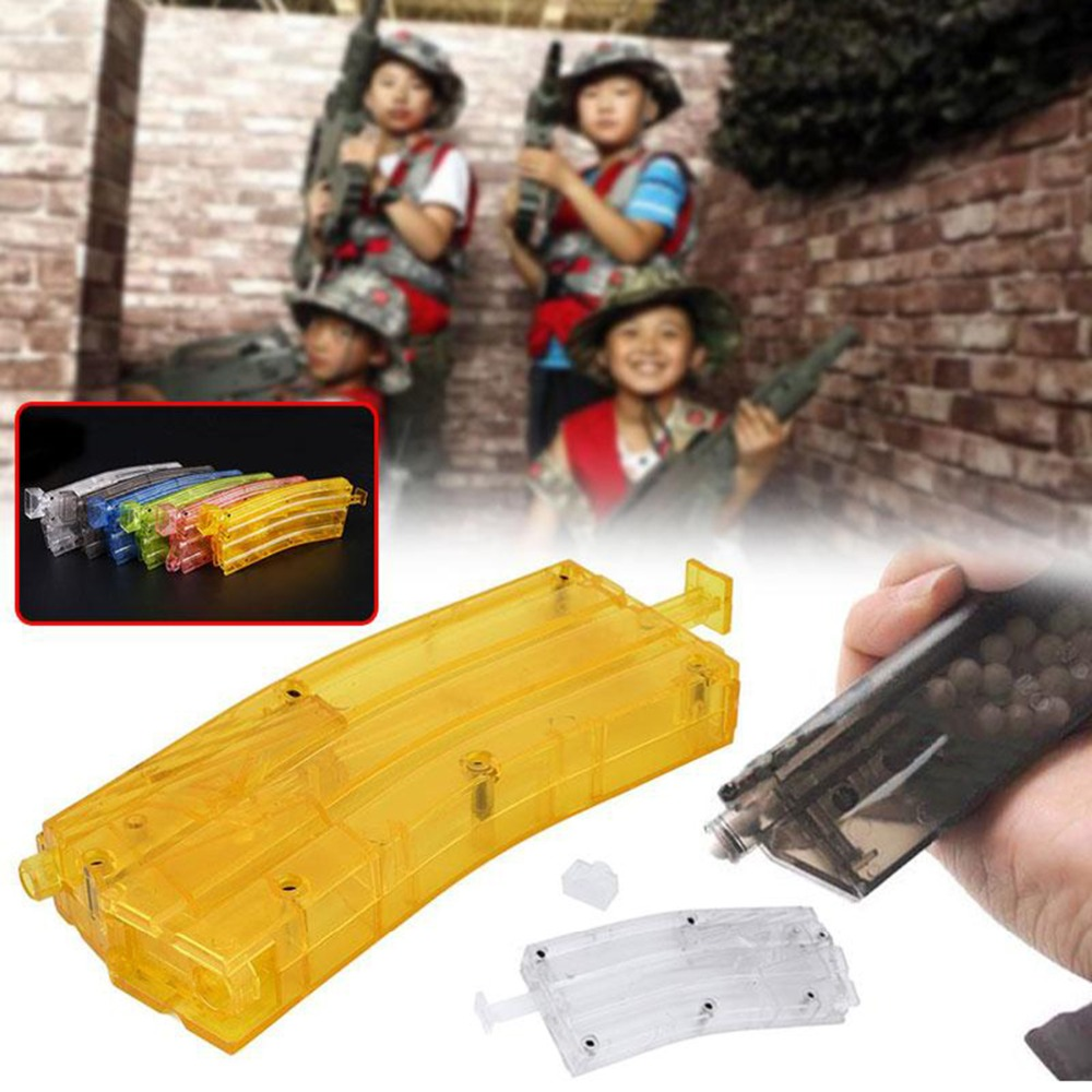 Simplified Airsoft Paintball 500rd BB Speed Loader Speedloader Tactical Military BB Box War Games Gun Hunting