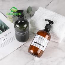 Jiangchaobo Bad Dauw Druk Fles Shampoo Water Badkamer Handdesinfecterend Gebotteld Wasmiddel Lege Fles Lotion Fles
