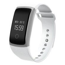 A09 сердечного ритма SmartBand браслет Спорт Smart Band Bluetooth сна трек SMS вызова напомнить для IOS Android Samsung