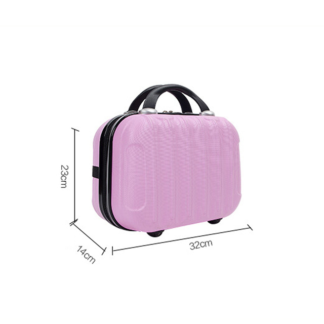 For Women Professional Cosmetic Case Beauty Makeup Necessary Waterproof Cosmetic Bag Suitcase For Adults Portable Cosmetic 5