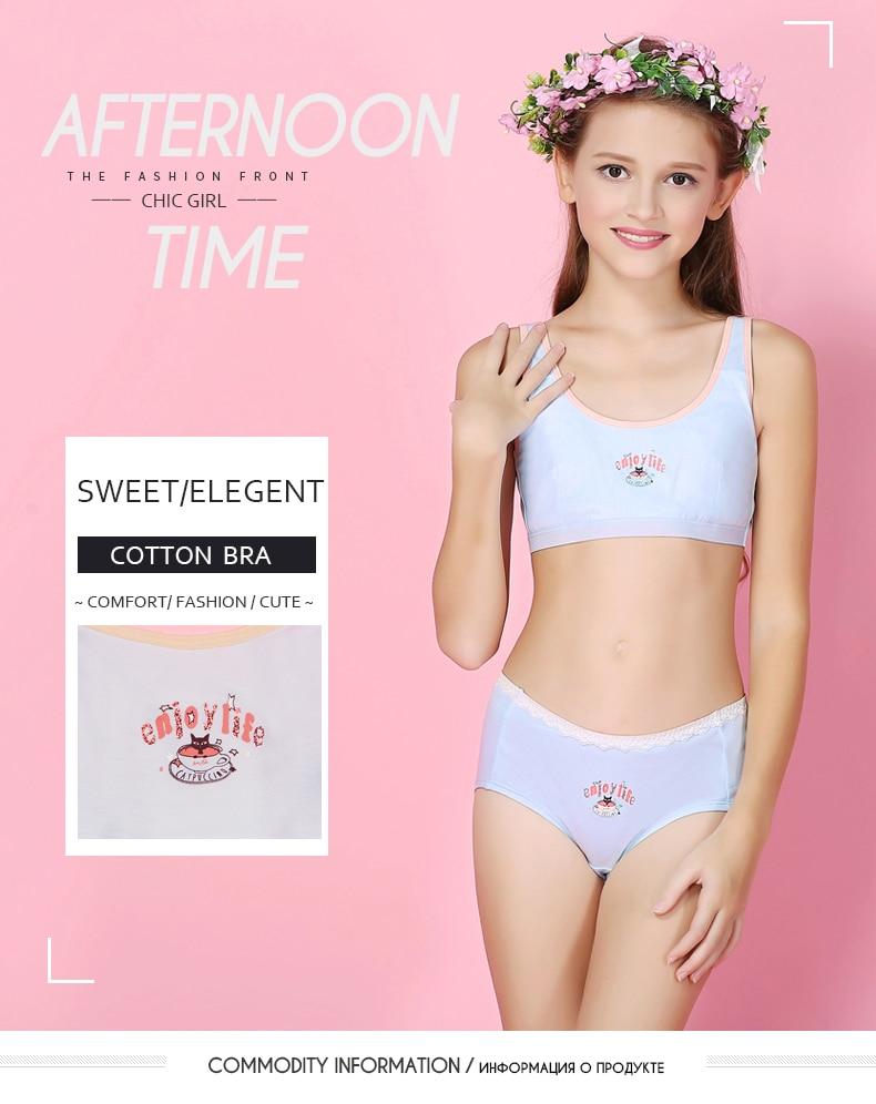 c6aaa9e4a68 New Arrival Feichangzimei Teenage Girl Underwear Girls Bra And ...