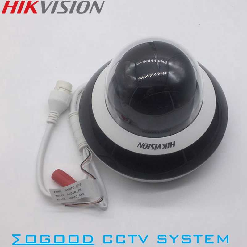 Hikvision EZVIZ китайская версия DS-2DC2D40IW-D (E) 3 4MP мини PTZ ip-камера 2,8 мм-12 мм 4X зум с ИК 20 м PoE ONVIF SD карта