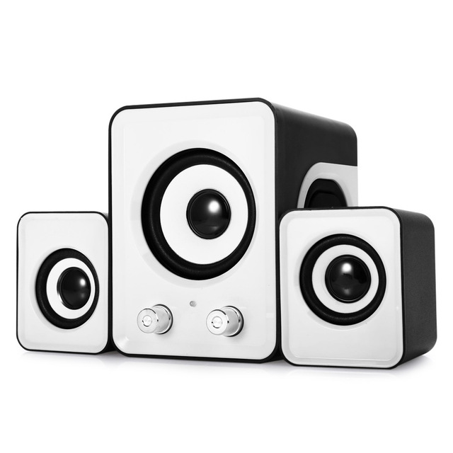3 in 1 Mini low bass computer speakers 3.5mm Audio Loudspeaker,Microphone for Laptop Mobile phone MP3 MP4 PC Tablet PC