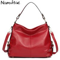 Luxury Genuine Leather Women Shoulder Big Bag New Fashion Designer Large Capacity Ladies Famous Brand Handbag