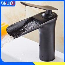Латунный Смеситель для раковины в ванную комнату кран «Водопад»