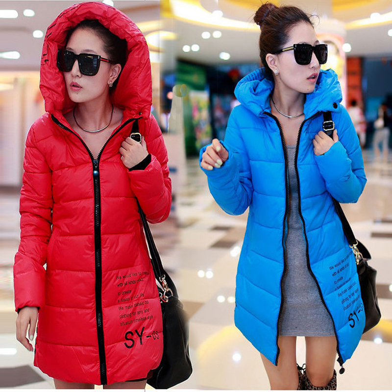 Free Shipping Women hiking jacket windproof Outdoor coat Winter Coats Waterproof Thermal Down Coats Size XS XL-in  Camping & Hiking Down from Sports & Entertainment    1