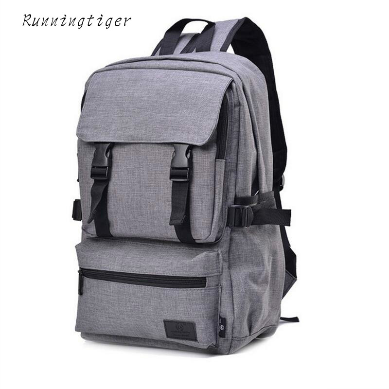 New Men Women 15 inch laptop backpack Unisex computer school backpacks rucksacks leisure for teenage boys mochila male Escolar canvas backpack women for teenage boys school backpack male