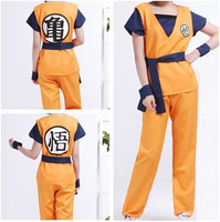 Dragonball Dragon Ball Z Adult Son Goku Master Roshi Logo Shirts Pants Jacket Cosplay Costume Halloween Kongfu Suit Outfit