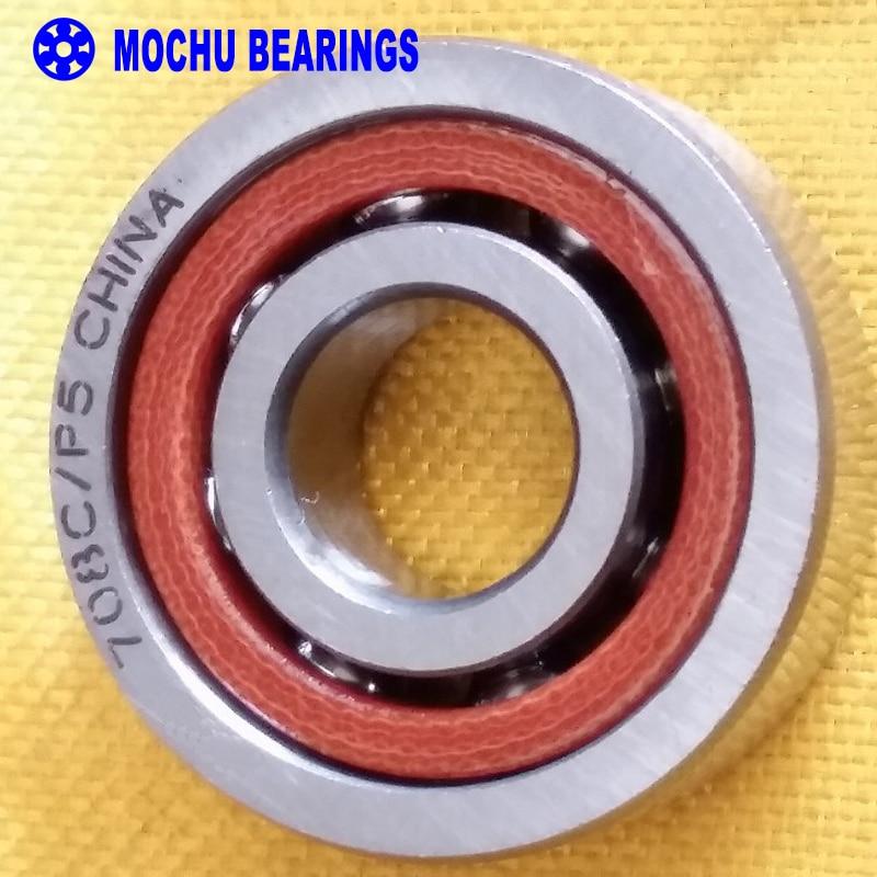 1PCS 8mm Spindle Angular Contact Ball Bearings 708C/P5 SUPER PRECISION BEARING ABEC-5 708 708C 708AC 8x22x7 original 7003 ac p5 angular contact ball bearings 17 35 10