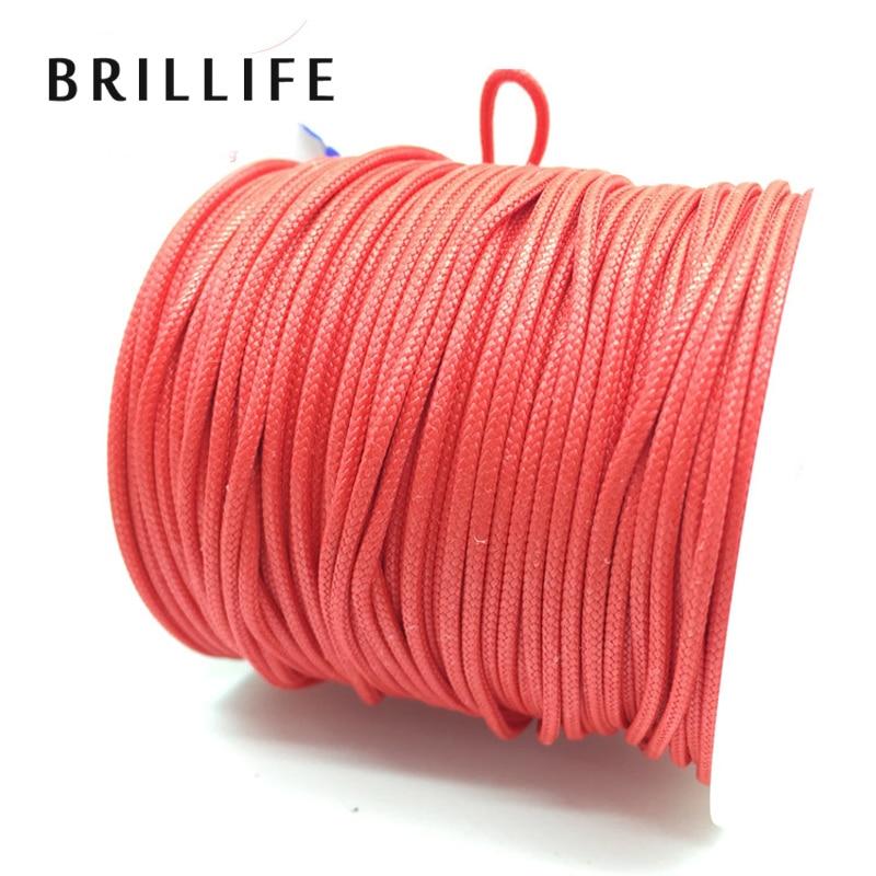 Brillife 50m 350lb 350lb 170kg braided wire 16 for 50 lb braided fishing line