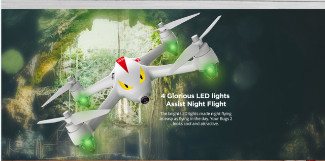MJX B2C Quadcopter 1080P HD WIFI Camera Drone GPS Dual Mode Altitude Aircraft Brushless RC Racer FPV Drone