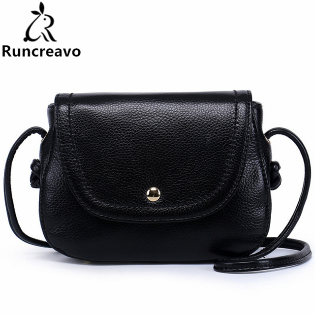37740bc00f4 Genuine Leather Saddle Bag Real Leather Women Small Bag Summer Sling Bag  For Girls Crossbody Messenger Bags Female 2018.