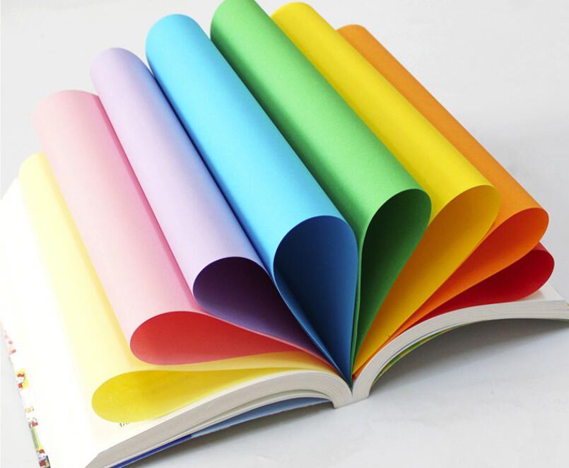 100 шт A4 цветная офисная печать копировальная бумажная основа беспылевые частицы печатная машина без карт широкий спектр применения