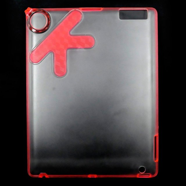 20pcs/Lot Back Case for iPad ,TPU Clear Hard Case, Protecting Cover,OK Design, Brand New,Retail or Wholesale
