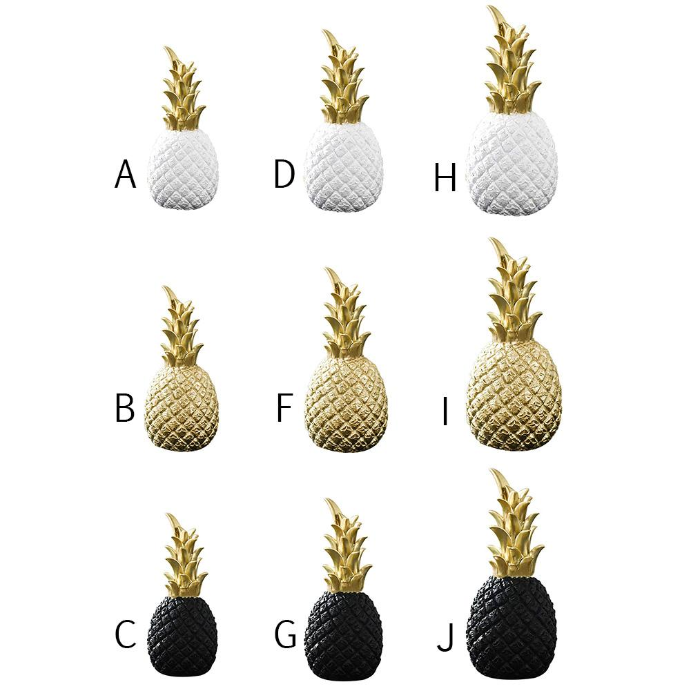 Pineapple Crafts Desktop Decoration Business Gift Nordic Desktop Display Props Home Decoration Accessories Creative Crafts