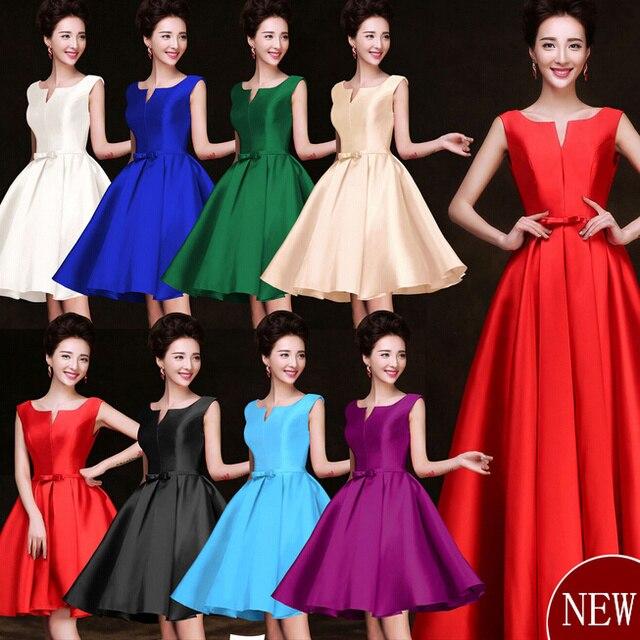 Multi color morado ciruela tallas grandes damas de honor formal azul ...