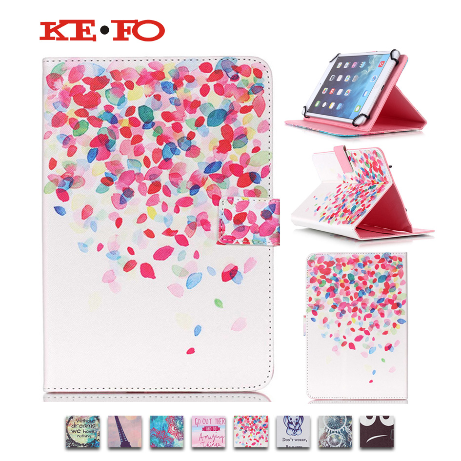 PU Leather Flip Stand Tablet Covers Cases For 10.1 inch Tablet Digma Plane 10.1 3G funda tablet 10 universal +Stylus+Screen Film ...