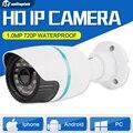 HD 720 P 1.0MP Cámara Bullet IP ONVIF Cámara de Seguridad Inicio cámara de Vigilancia Cámara de Red Al Aire Libre Impermeable de La Visión Nocturna P2P Nube