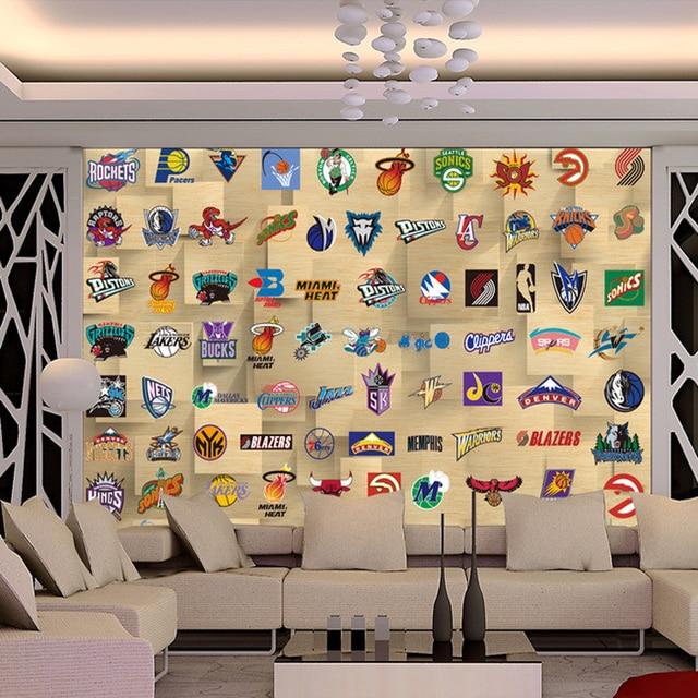 aliexpress com buy wholesale customized nba basketball wall murals nba pixersize com