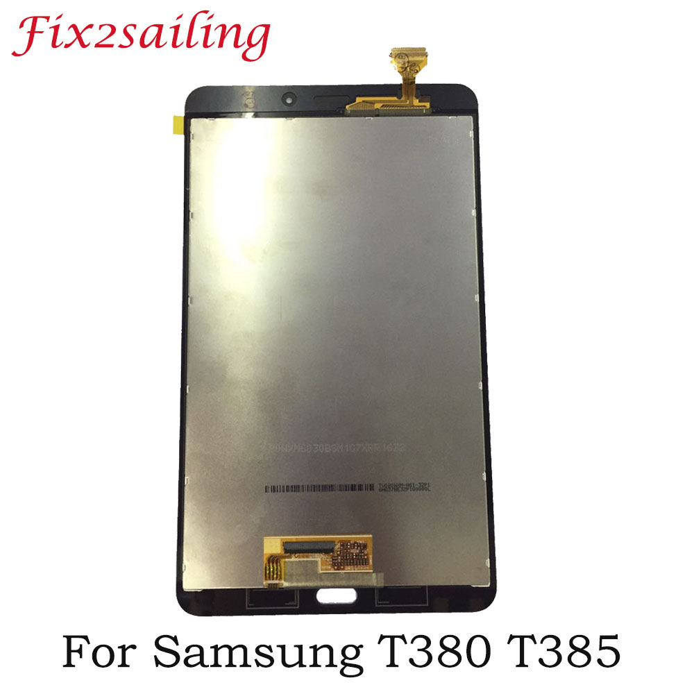 For Samsung Galaxy Tab A 8.0 2017 SM-T380 SM-T385 T380 T385 LCD Display Touch Screen assembly Replacement Black / WhiteFor Samsung Galaxy Tab A 8.0 2017 SM-T380 SM-T385 T380 T385 LCD Display Touch Screen assembly Replacement Black / White