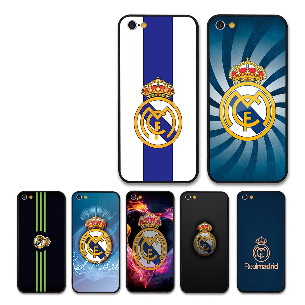 Real Madrid Fans rooney Phone case for Apple iPhone 5 6 7 8 8plus/7plus/6plus X XR XSMAX football team member cases