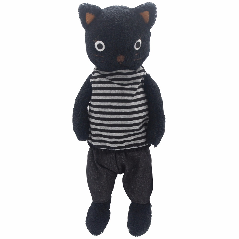 JESONN Stuffed Animals Cats Plush Toys Cat Gifts for Children 50 CM free shipping plush tongue funny cat cat expression a birthday present love cats the gifts of men and women