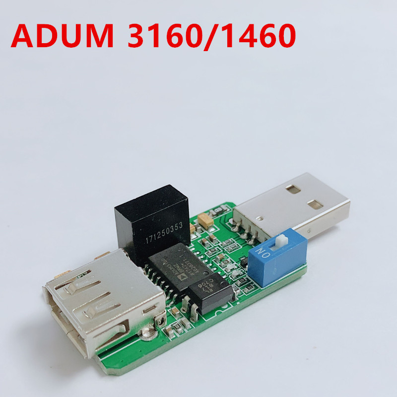 1500V USB To USB Isolator Board Protection Isolation ADUM4160 ADUM3160 Isolator Board Protection Isolation Module USB 2.0