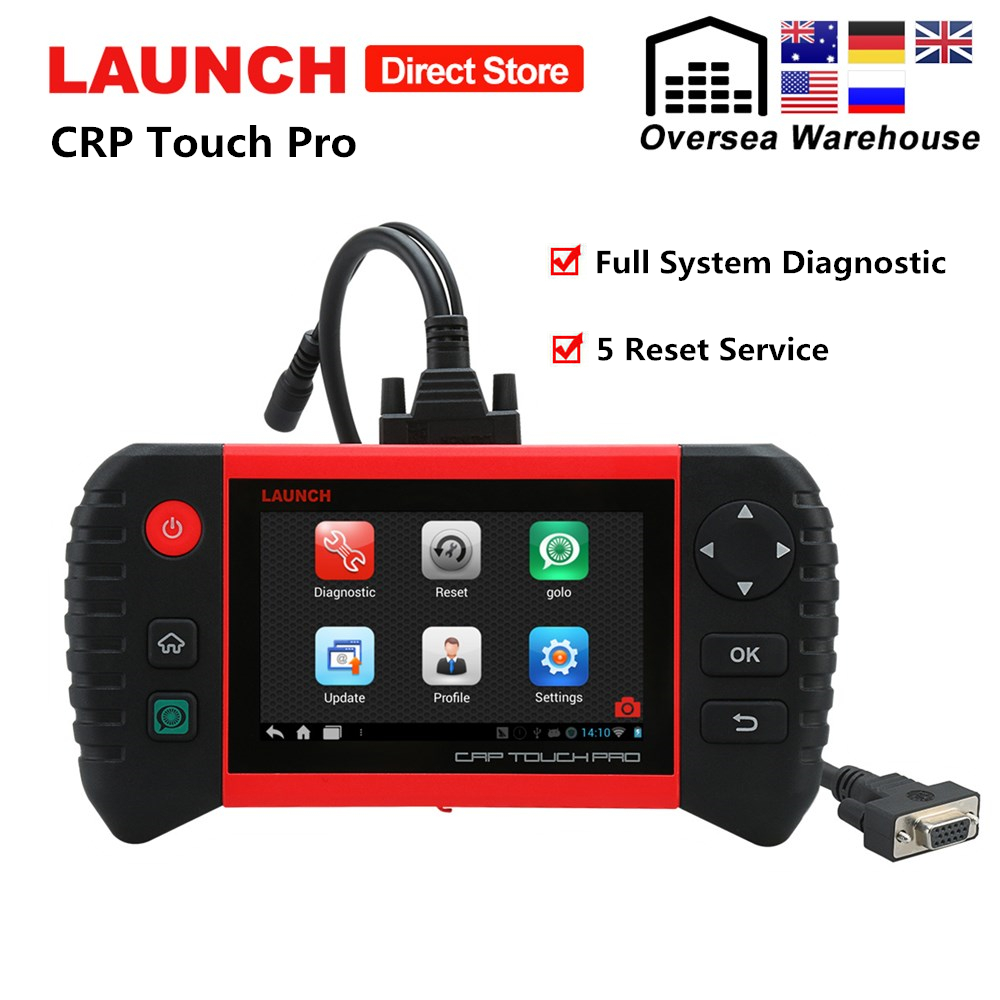Launch CRP Touch Pro Car Diagnostic Tool Full System Diagnostic Scan Tools Autoscanner OBD2 Scanner with