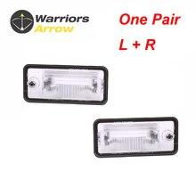 Пара 8E0807430A 8E0807430B для AUDI A3 A4 S4 B6 B7 A5 A6 S6 C6 A8 D3 Q7 RS4 номерного знака светильник лампа объектив LH RH левый и правый
