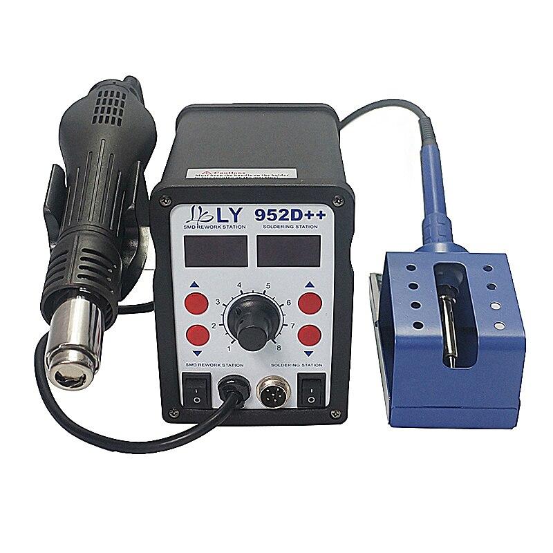 купить BGA soldering station LY 952D++ reballing plate auto sleep function big power 700W по цене 5278.01 рублей