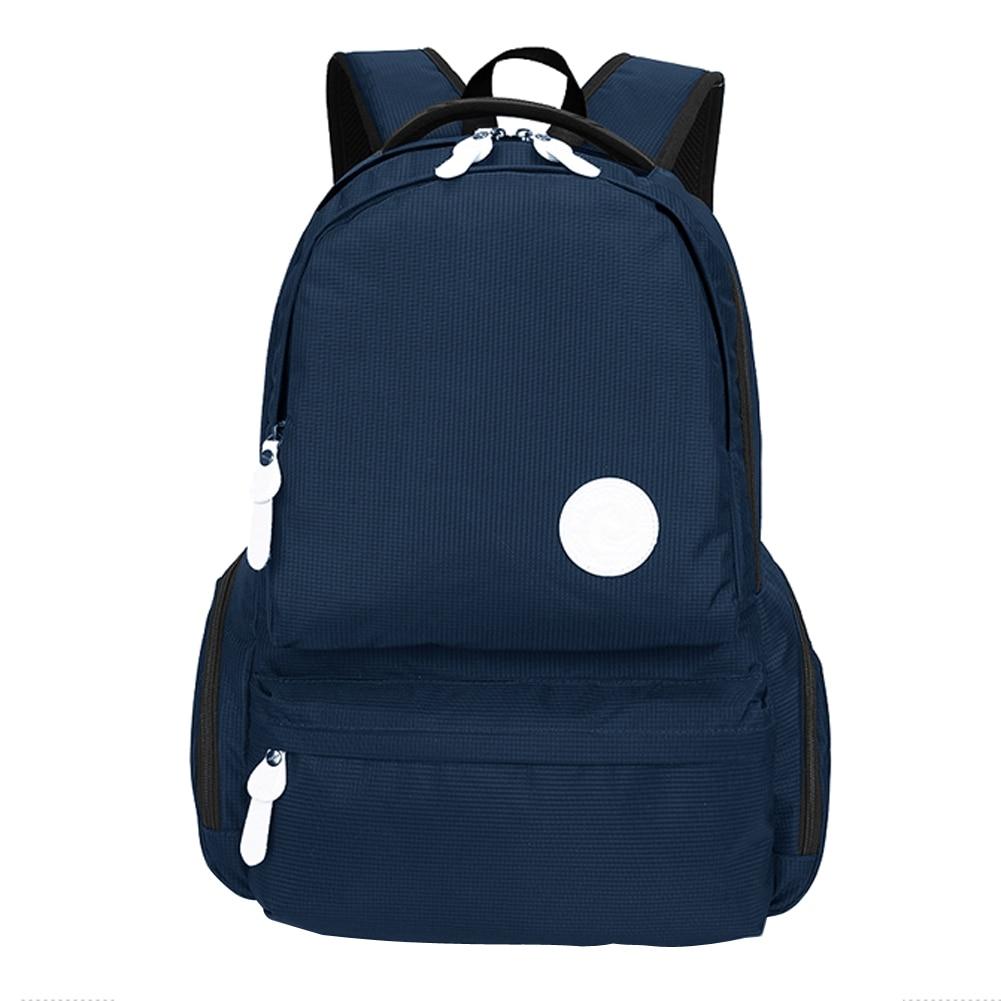 ФОТО Oxford Travel Backpack Male Notebook Computer Bag Laptop Backpacks Shoulder Zipper Bag Casual Bag Teenagers Rucksack School Bag