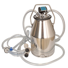 Durable 25L Sheep Stainless Steel Portable Bucket Set for Milking Machine