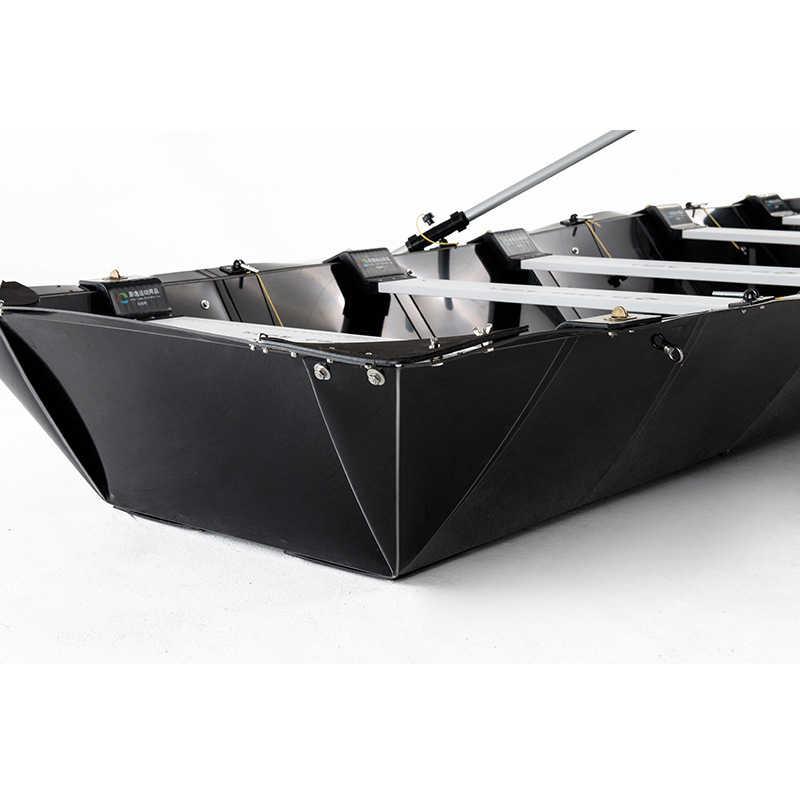 高負荷ローイングボート折りたたみボート屋外釣り水スキーボート 4.2 ミリメートル厚い高分子ポリプロピレンヨット
