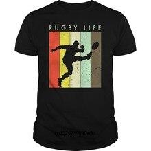 Divertente Uomo t shirt Delle Donne della novità tshirt Retro Vintage Rugby  TShirt-Rugby Vita fresco T-Shirt 7ac4fb1a506