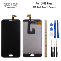 UMI Plus LCD Display Touch Screen Original 1920x1080 Screen For UMI Plus Digitizer Assembly Repair Replacement