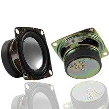 2 шт 4 Ом 3 Вт 52 мм 2 дюймовый звуковой динамик полный спектр DIY мини стерео коробка аксессуары мультимедийный динамик