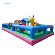 Inflatable Biggors 9*5*2 m Inflatable Jumping Bouncer Inflatable Kids Fun City For Sale