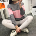 2016 Winter Women Sweater New Fashion Striped Pullovers High Quality Knitted Sweaters Soft Pull Femme Sweter Mujer SZQ005