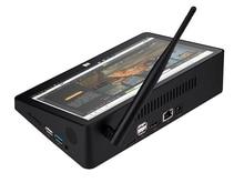 PIPO X10 Pro / X10 10.8 Pollici Mini PC Win10/Android 7.0/Linux Tablet PC 4G di RAM 64G ROM Z8350/RK3399 TV Box BT RJ45 HDMI USB * 4