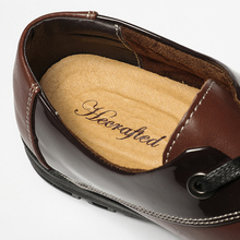 HECRAFTED Full grain leather Top quality Classic simple style Men leather shoes