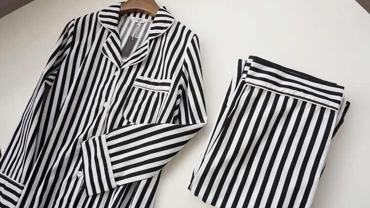 גברים של חורף חליפות זוג Pyjama סט גברים פיג 'מה כותנה פיג' מות שרוול ארוך מזדמן הלבשת זכר פיג 'מה hombre