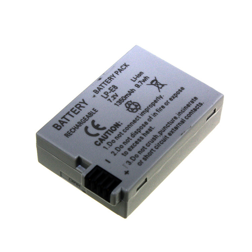 1 PCS LP-E8 <font><b>Battery</b></font> Pack Bateria LP-E8 Lp E8 For <font><b>Canon</b></font> 550D 600D <font><b>650D</b></font> 700D X4 X5 X6i X7i T2i T3i T4i T5i DSLR Camera#1 image