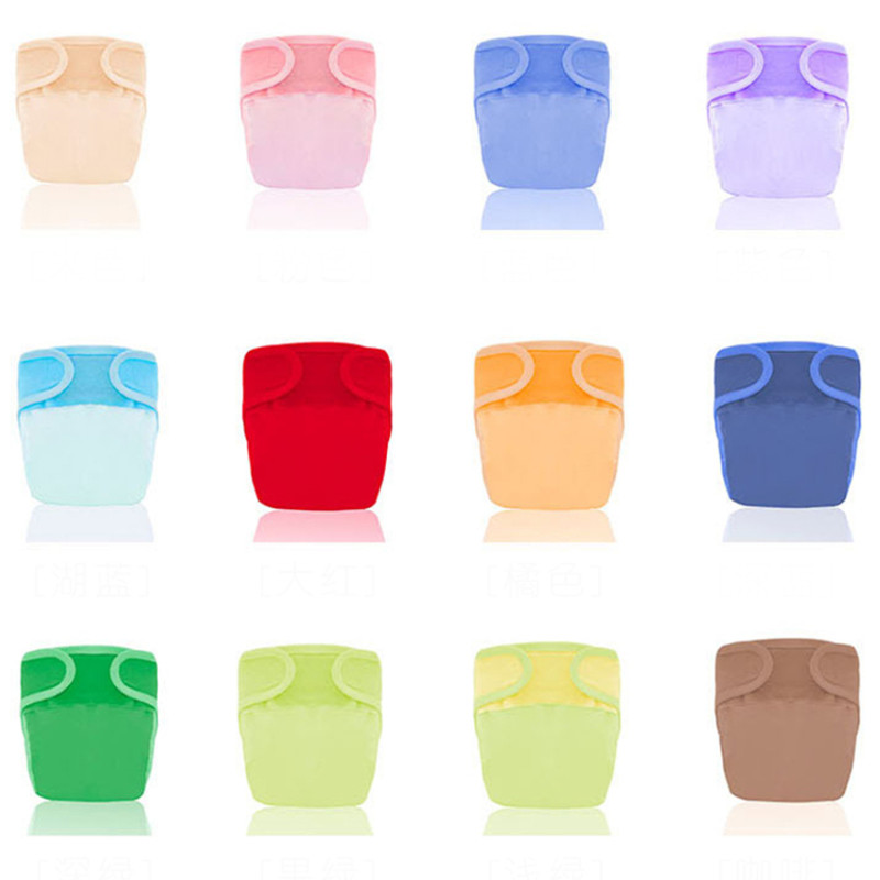 Newborn Baby Cloth Diapers Reusable Nappies Unisex Baby Care Pants Waterproof Pocket Cloth Diaper Baby Shower Gifts Toddler Bebe