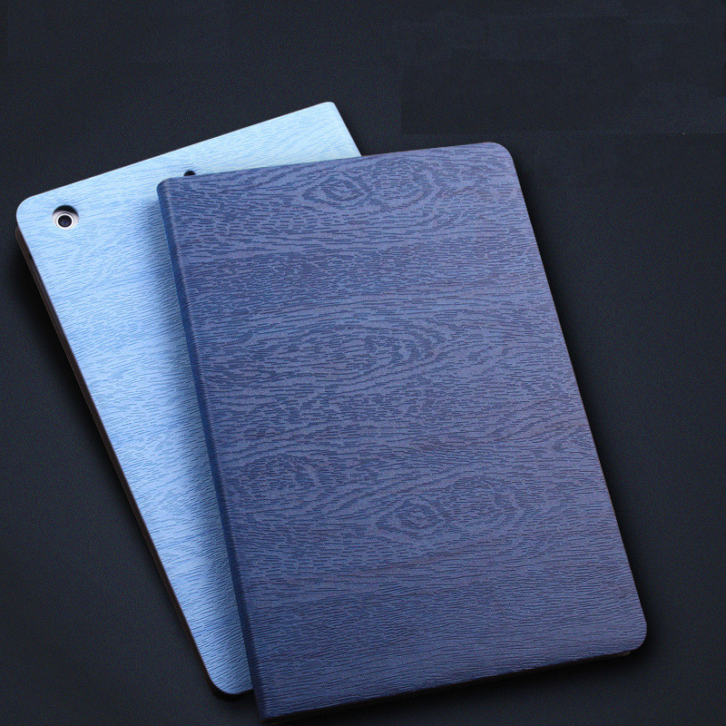 Slim Tablet Case for ipad air 1 for ipad mini 2 1 mini 3 Smart PU Leather Sleeve Wood Lines Folio Stand Tablet Cover Case for ipad air 2 air 1 case for apple ipad mini 1 2 3 smart cover pu leather glitter silicone soft back case for ipad air coque